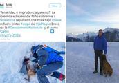 """滑雪男孩遇雪崩被埋 奇迹般死里逃生简直犹如""""佛光护体"""""""