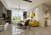 三居室的房子一般多少平米?现代风格半包装修好不好?-开元第一城装修