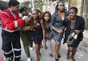 肯尼亚酒店爆炸枪击事件致多人死伤 民众抱头痛哭惊魂未定