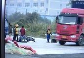 鹤山一外卖骑手送餐途中车祸身亡 工伤赔偿至今无着落