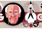 谷歌涂鸦纪念俄罗斯戏剧理论家斯坦尼斯拉夫斯基156岁冥诞