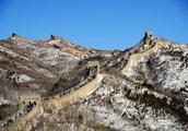 北京:八达岭长城雪后初霁美若画卷