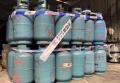 """存在安全隐患!遂昌有人非法存放销售近百瓶""""黑煤气"""""""