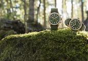 万宝龙:卡其绿色腕表,回归自然时光