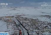 玉树发生雪灾 囊谦县12小时内降水量已达5毫米以上