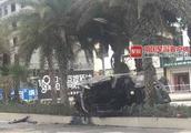 16秒监控视频曝光!广西清晨惨烈车祸致5人被烧身亡