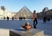 交流|秀山紫砂石壶走进卢浮宫
