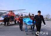 重庆万州一天两起直升机救援, 车程2小时飞行不到15分钟
