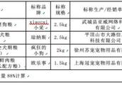 别再随便撒狗粮了!上海市消保委比较试验:这几款狗粮营养不良、细菌超标!