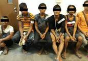6名缅甸男子非法逗留新加坡 或遭鞭刑