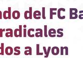 巴萨官方:抗议里昂允许极端球迷入场,将提出投诉