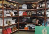 疑售高仿手袋丝巾 香港旺角一冒牌货集团被海关查获