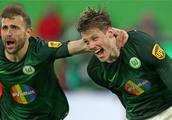 德甲:狼堡主场大胜杜塞,莱比锡搅局沙尔克新帅首秀