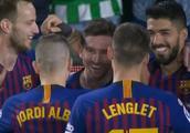 复盘巴萨4-1贝蒂斯:队友对手加球迷,都被梅西神级表现征服!