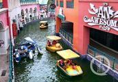 """打卡新地标:重庆有个小""""威尼斯"""" 1公里运河展现水城浪漫风情"""