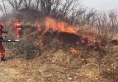 吉林中俄边境森林火灾,形成过境威胁