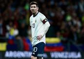 友谊赛:梅西造威胁劳塔罗破门,阿根廷1-3委内瑞拉