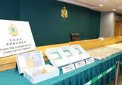 香港海关:查获约91公斤疑似可卡因,刷新记录