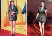 当佟丽娅和姚晨同穿西装,网友:一个霸道总裁,一个公司前台!