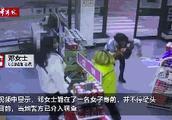 汉中加油站员工给女奔驰车主磕头 女司机道歉并愿意承担医疗费