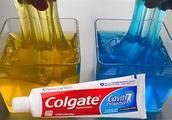 史莱姆实验恶作剧,用牙膏PK漱口水做史莱姆,哪个做泥能成功呢?
