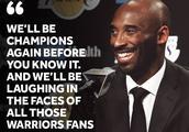 NBA:科比坚信湖人能夺冠 等着嘲笑卫冕失败的勇士