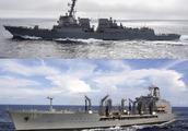 美国两艘军舰28日通过台湾海峡 航行轨迹曝光