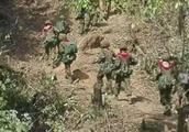 缅甸军方与若开军接连激战,军方缴获大量武器