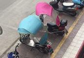 """这把""""伞""""可能会要了你的命!上海严查电瓶车非法装雨篷:扣车+强制拆除!"""
