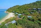 它号称深圳马尔代夫的海边度假村,一处真正的私家海滩—柚柑湾