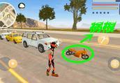 火柴人绳索英雄:一辆摩托车引发的事故,火柴人是这样做的