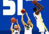 勇士首节51分创纪录,你知道NBA历史上二三四节最高分是多少吗?