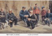 和的乐章一一评王春晖水彩画《家乡父老》
