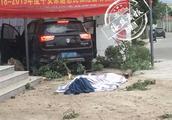 1死4伤!南安洪濑大洋村发生车祸,轿车撞树再撞墙,司机当场死亡