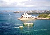 12张悉尼歌剧院美拍,不同天气不同时间不同角度你喜欢哪张