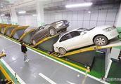 """首个""""平面斜置式"""" 停车库在重庆投用"""