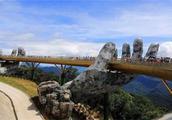 号称越南最美的大桥,花20亿打造,游客说有一种漫步云端之感