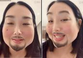 钟丽缇结婚2周年,与张伦硕花式扮丑,谁还记得去年的装扮?
