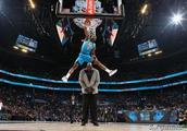 NBA全明星扣篮大赛!迪亚洛惊艳全场,飞跃奥尼尔获冠军!