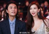 刘烨、黄晓明、赵薇等明星合影,林志玲深V宽口纱裙引眼球