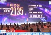 2018天猫双十一海南交易额12.16亿元,同比增长14.5%