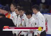 中国队夺短道世界杯男女混合2000米接力冠军 武大靖独得三金