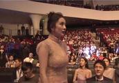 33岁杨幂出席活动,镜头下暴露真实身材,网友:前夫影响大