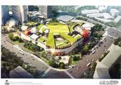 市规划委公布宝龙国际中心、庚西小学等多组效果图