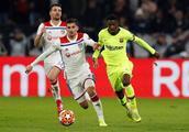 欧冠八分之一决赛首回合巴萨0:0里昂复盘