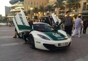 迪拜警察豪华的车队:不仅有法拉利和兰博基尼,还有飞行摩托车