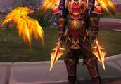 《魔兽世界》皮甲幻化:奎尔萨拉斯炎鹰之刃 我们的敌人必将消灭