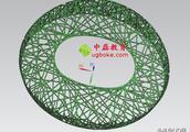 鸟巢3D图档下载UG鸟巢三维造型设计下载中磊教育