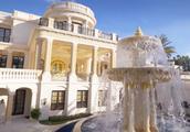 """1.59亿美元的超级别墅""""皇家公馆"""",拥有22K黄金包裹大门"""