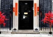 庆祝中国春节 英国首相特蕾莎·梅官邸贴春联